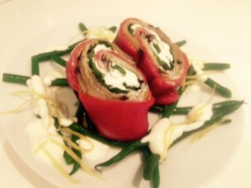 jenny cooks red pepper roulade silver bell